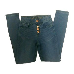 Justice Girls Slim Jeans Size 10 yrs